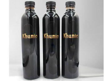 fulvic acid liquid bottle packing