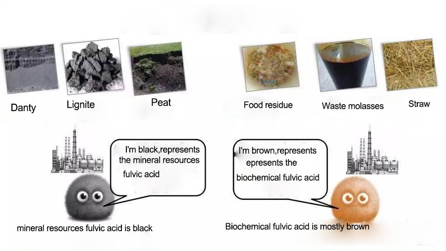 What's the difference between Mineral Fulvic Acid and Biochemical Fulvic Acid