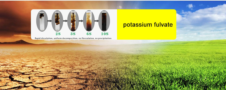 What is the advantage of potassium fulvate