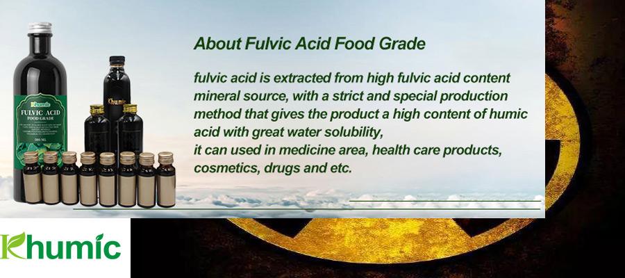 Does fulvic acid help to neutralize radiation