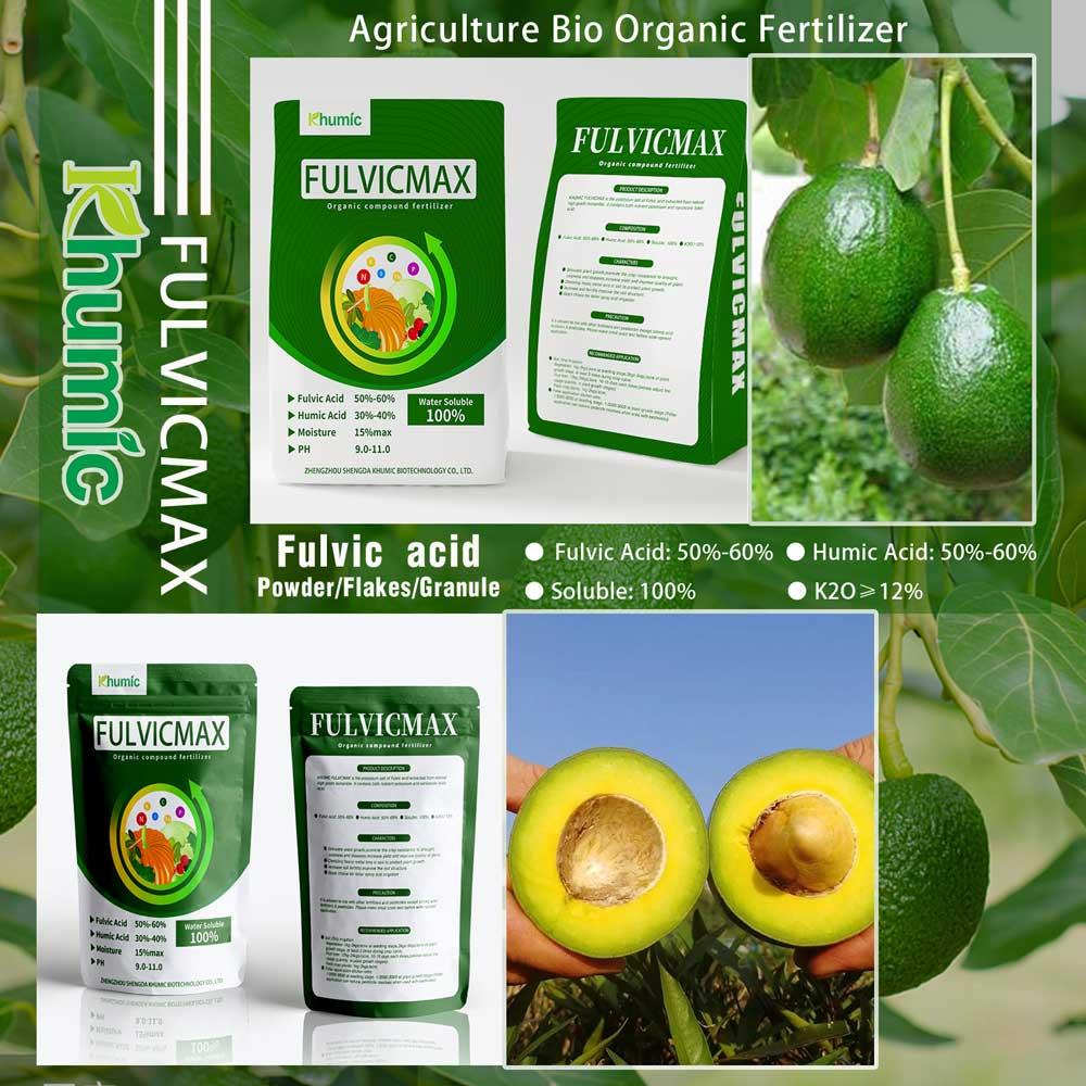 How khumic fulvicmax help avocado grow