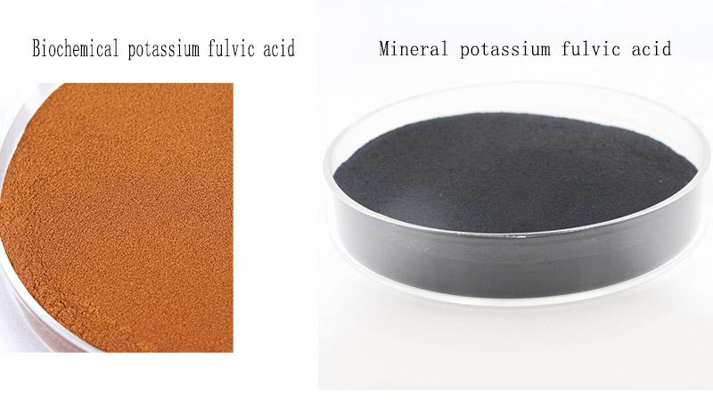 ineral potassium fulvic acid VS biochemical potassium fulvic acid